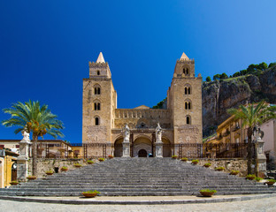 The Cathedral-Basilica of Cefalu is a church in Cefalu, Sicily.