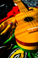 reggae background ukulele
