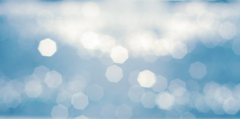 Blurred natural bokeh abstract background