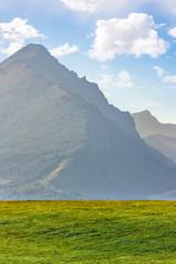 high peak of the Tatra mountain