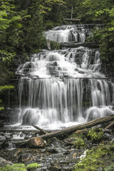 Wagner Falls in the UP of Michigan