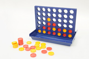 Wisdom game, connect 4 for brain development