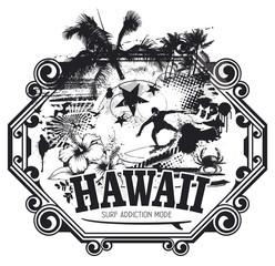 hawaiian surf grunge scene