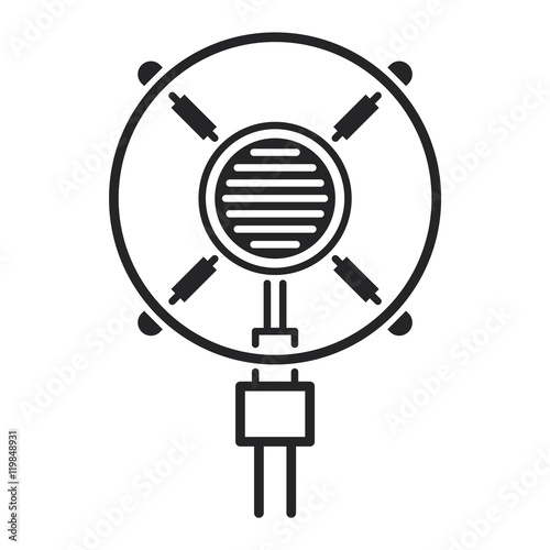 u0026quot different microphones types vector icons u0026quot  stock image and