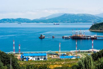 Oil Terminal At the Russian Far East