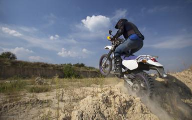 Motocross bike.