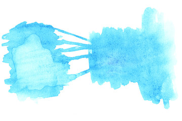 ..Wet Watercolor Wash. Abstract Water-color Background. Ombre Wa