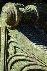 Detail decorative architectural elements