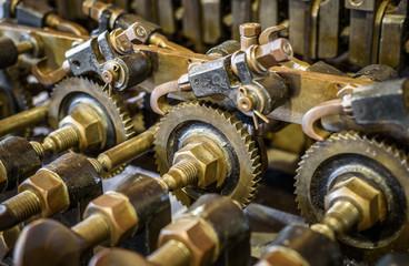 Mechanical Brass Cogs