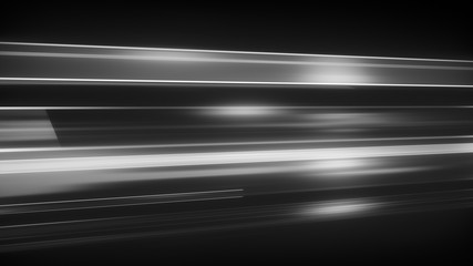 Light streaks abstract futuristic background