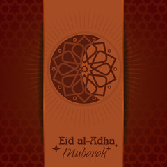 Eid al-Adha Mubarak. Background for Muslim community holy festival