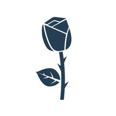 Rose icon vector