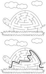 Easy tortoise maze