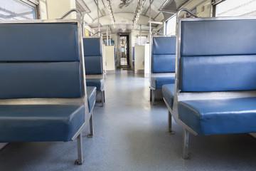 passenger seat in train