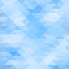 Mosaic triagle background