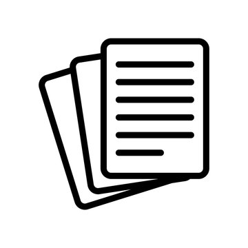 Stack Of Paper icon