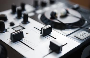 Professional DJ midi controller sound mixer