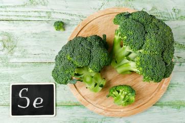 Broccoli rich in vitamins and minerals