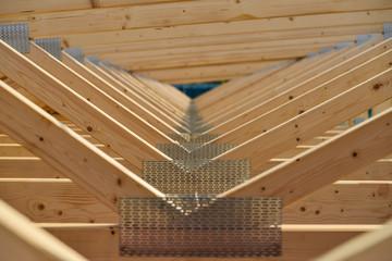 Dachstuhl, Nagelplatten
