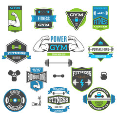 Fitness And Sport Labels
