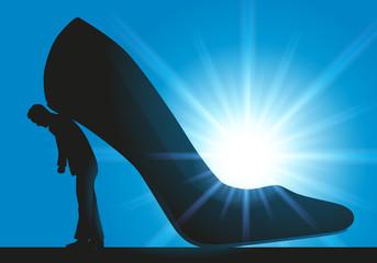 Pouvoir - Femme -Chaussure à talon