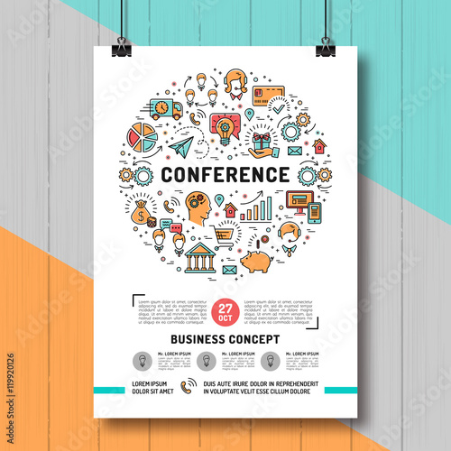 Conference poster template