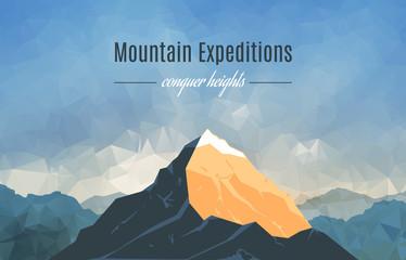 Landscape With Mountain Peak 2