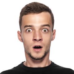 Portraite of funny man