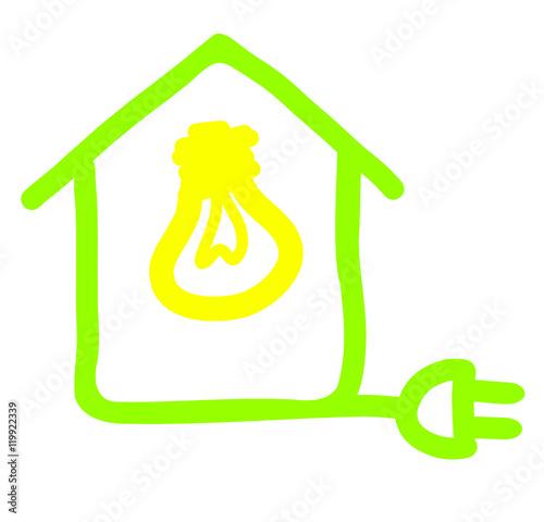 Lectricit dans la maison stockfotos und lizenzfreie vektoren au - Electricite dans la maison ...