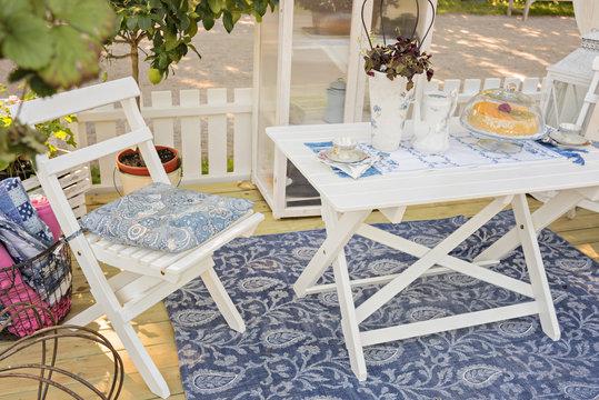 Garden patio furniture