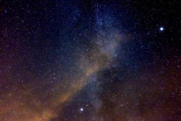 Milchstraße am nördlichen Spätsommerhimmel