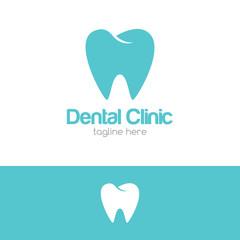 Dental Clinic Logo Design Concept Template v.1