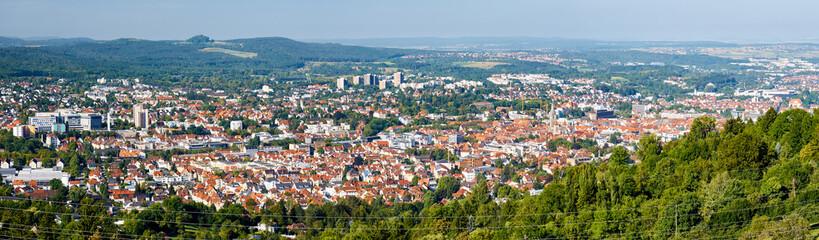 Panorama von Reutlingen