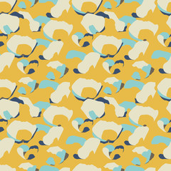 Random color spots seamless pattern. Vector illustration