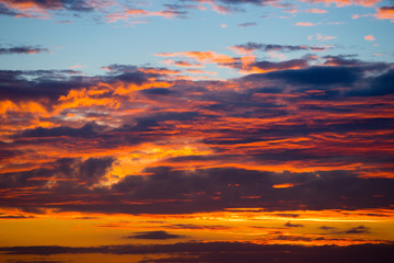 Sunset sunrise Sky Background abstract