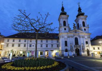 Fotomurales - Katharinenkirche in Graz