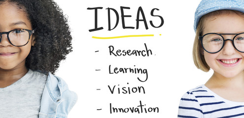 Idea Innovation Research Vision Learning Concept