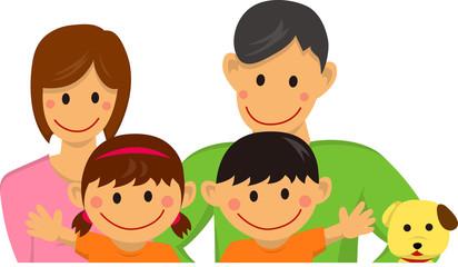 Family illustration (vector)