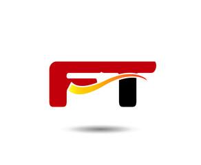 Letter FT Logo
