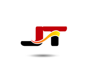 Letter JT Logo