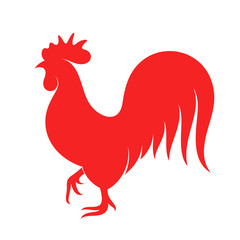 Rooster. Symbol of New Year 2017