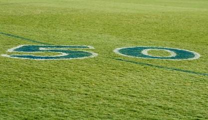 Fifty Yard Line Australian AFL Football