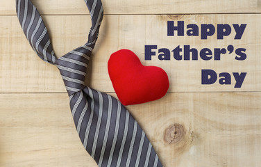 Happy father's day concept design card
