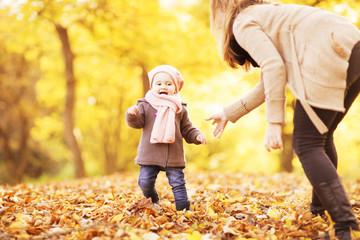 erste Schritte mit dem Kind