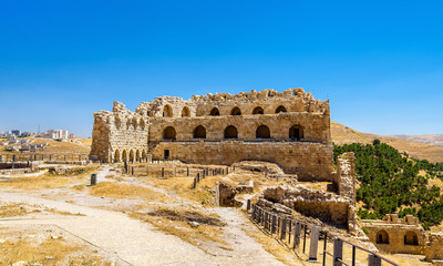 Medieval Crusaders Castle in Al Karak