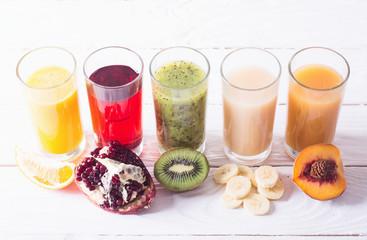Fruit juice colection