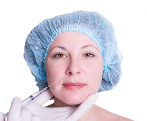 cosmetic injection for woman