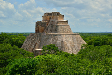 Uxmal, Piramide dell'Indovino.
