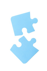 puzzle with a white background