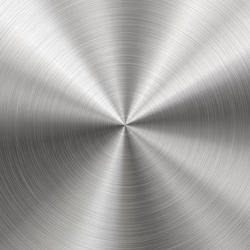 Brushed Metal, Radial Texture